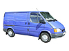 Ford Transit L1 (SWB) H1 (low roof) (1986 to 2000)