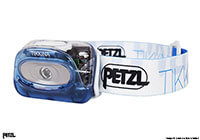 :Petzl Tikkina head torch, electric blue, no. LG009
