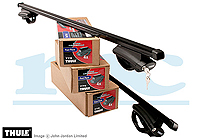 Citroen Nemo Multispace (2009 onwards) :Thule roof bars package - 775, 762
