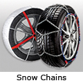 Ford Ranger double cab (2012 to 2016):Snow Chains