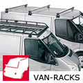Ford Fiesta van (1990 to 1996):Commercial roof bars and roof racks