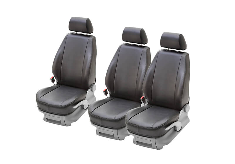 Peugeot Partner L2 (LWB) (2008 to 2018):PeBe Stark Art 1 + 1 + 1 seat cover set, with headrests, no. 784531NR