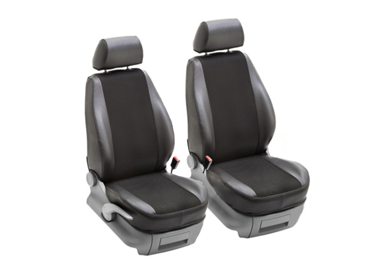 Ford Transit Connect L2 (LWB) (2002 to 2014):PeBe Transport 3.0 1 + 1 seat cover set, with headrests, no. 134920NR