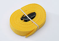 :FASTY strap 150cm, yellow, 25mm wide, 400kg (1 strap) no. FS122-1