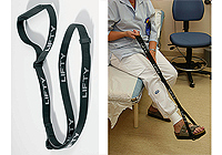:FASTY Lifty foot strap 110cm black (1 strap) no. FS165