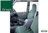 Citroen Nemo Multispace (2009 onwards) :UK Covers waterproof seat covers, nylon - front pair, green, UKF02