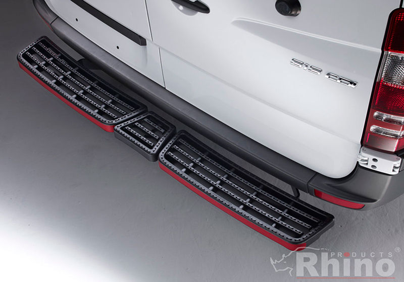 Citroen Relay L3 (LWB) H2 (high roof) (2006 onwards):Rhino AccessStep - triple black (no reversing sensors), SS311B