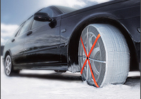 AUTOSOCK textile wheel covers/snow chains