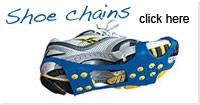 Shoe snow chains