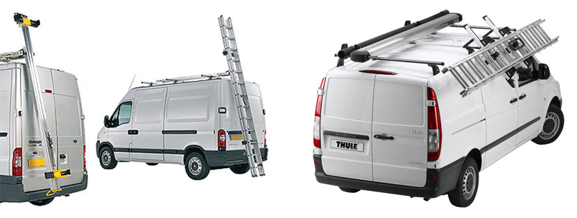 Ladder Roof Rack >> Van Ladder Handling Systems Ladder Rack System Van Ladders