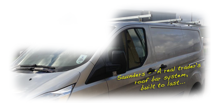 Saunders - A real trader's roof bar system, built to last...
