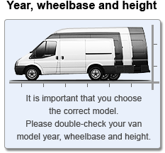 Van Wheelbase and Height
